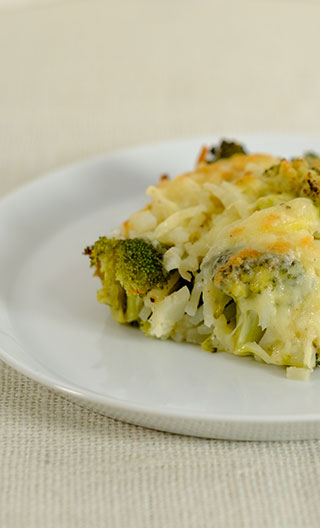 Broccoli Potato Bake