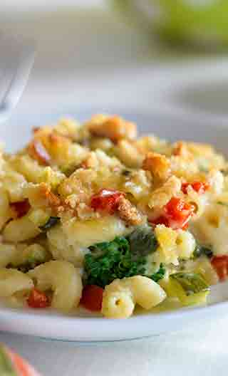 Super Supper Veggie Mac
