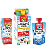 Growing years organic whole milk