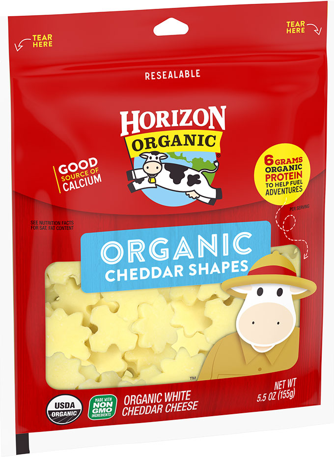 Horizon Horizon Organic Cheddar Cheese Shapes