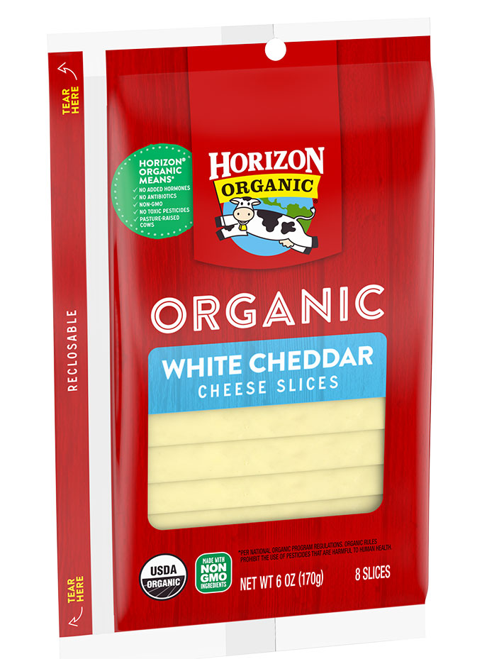 Horizon Organic Cheddar Cheese Slices