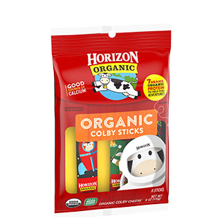 Horizon Horizon Organic Colby Cheese Sticks