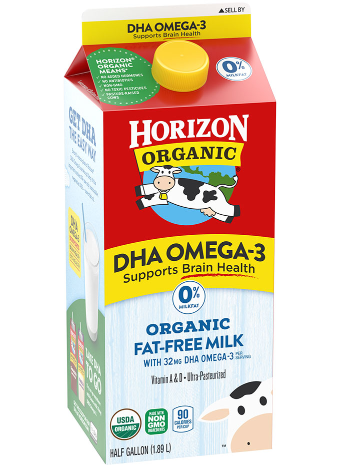 Horizon Organic DHA Fat-Free Milk