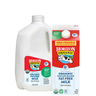 Horizon Organic Fat-Free Milk