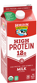 Organic High Protein Whole Milk