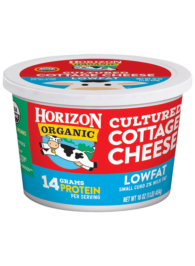 Horizon Organic Cultured Low Fat Cottage Cheese