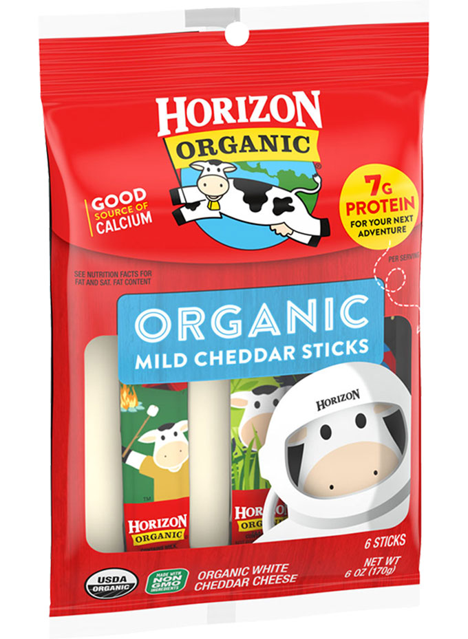 Horizon Organic Mild Cheddar Cheese Sticks