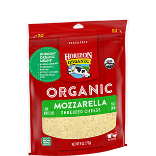 Horizon Organic Shredded Mozzarella Cheese