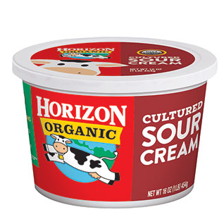 Organic cultured sour cream