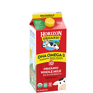 Organic Whole Milk with DHA Omega-3