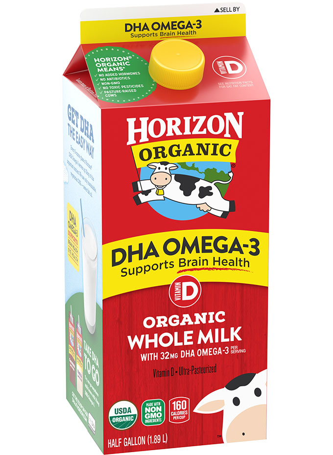 Horizon Organic DHA Whole Milk