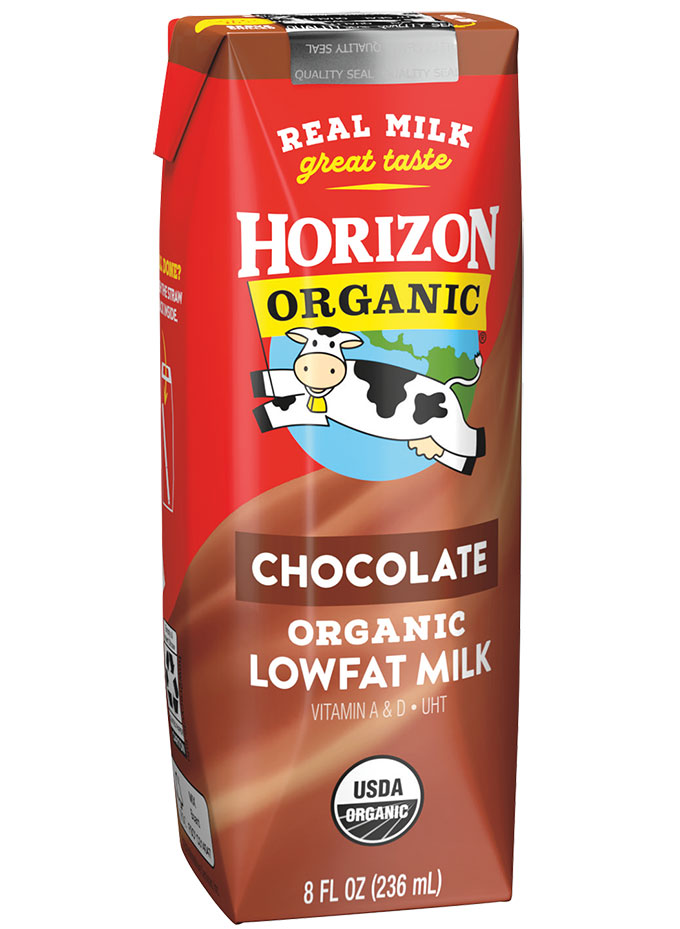 Horizon Organic Shelf Stable Chocolate 1% Milk
