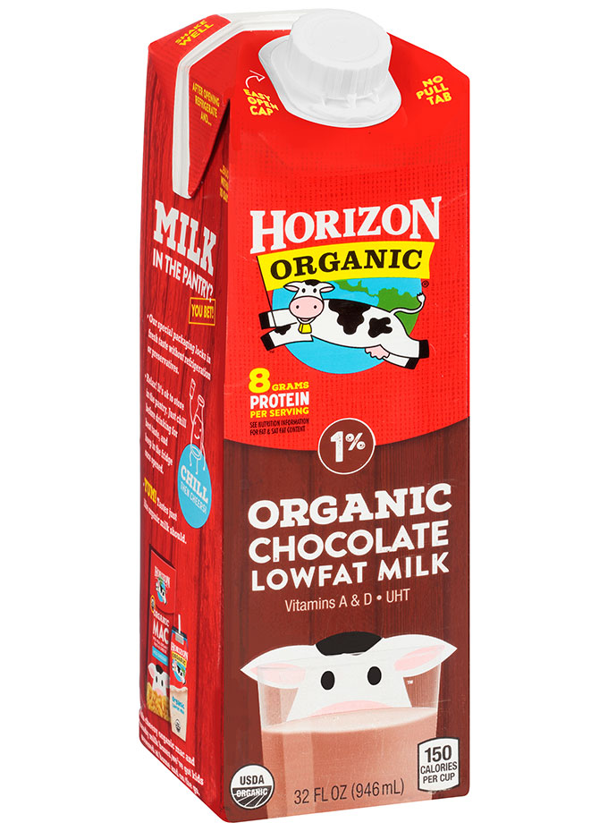 Horizon Organic Shelf Stable Whole Chocolate Milk