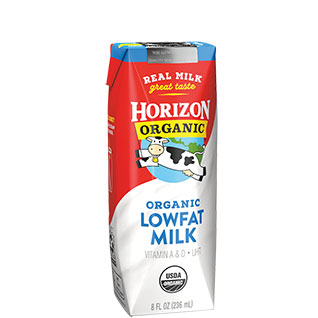 Organic Low Fat Milk Box