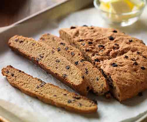 Vanilla Currant Bread